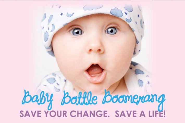 Apopka Pregnancy Care Center - Baby Bottle Boomerang, Save your change. Save a life!